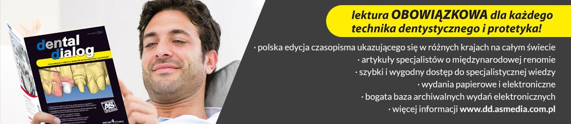 Lektura obowiązokowa dla każdego technika dentystycznego i protetyka  -polska edycja czasopisma ukazującego się w różnych krajach na całym świecie -artykuły specjalistów o międzynarodowej renomie -szybki i wygodny dostęp do specjalistycznej wiedzy -wydania papierowe i elektroniczne -bogata baza archiwalnych wydań elektronicznych